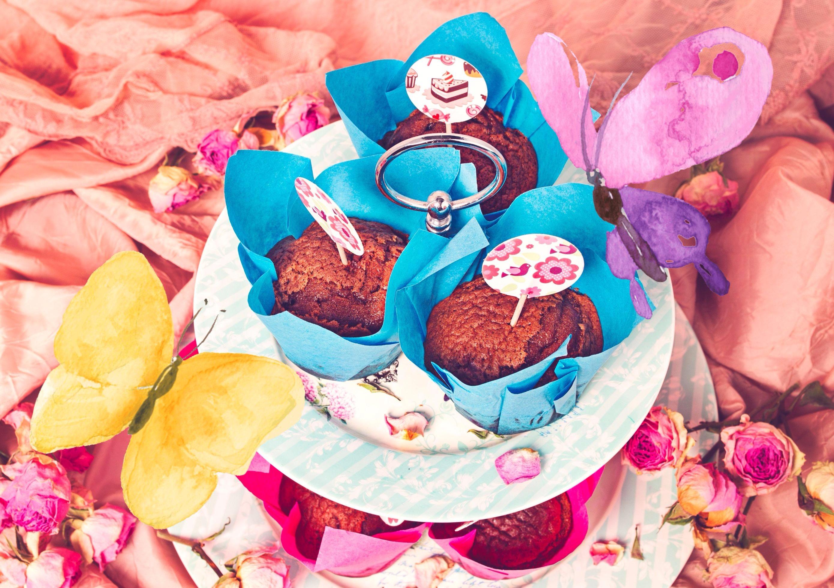 Šokolaadi-martsipani muffinid
