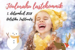 Jõulurahu lastehommik 1. detsembril!