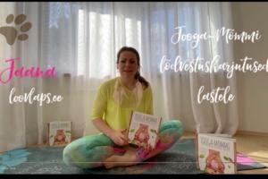 Võimle rõõmuga  ja võida Lasteekraani lehe kaudu omale Jooga-Mõmmi raamat!