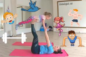 Trenn koos lapsega